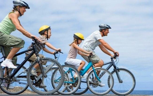 pedalar de bicicleta